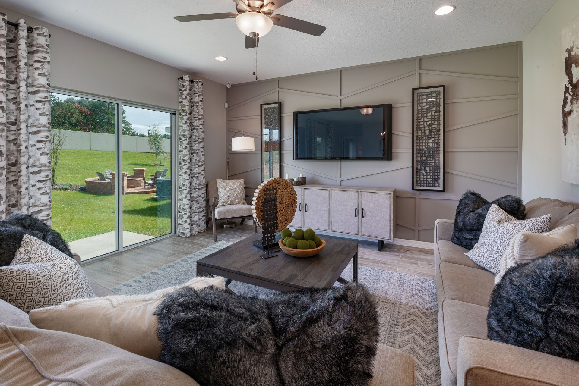 Living Area featured in the Bartley Flex By Hanover Family Builders in Lakeland-Winter Haven, FL