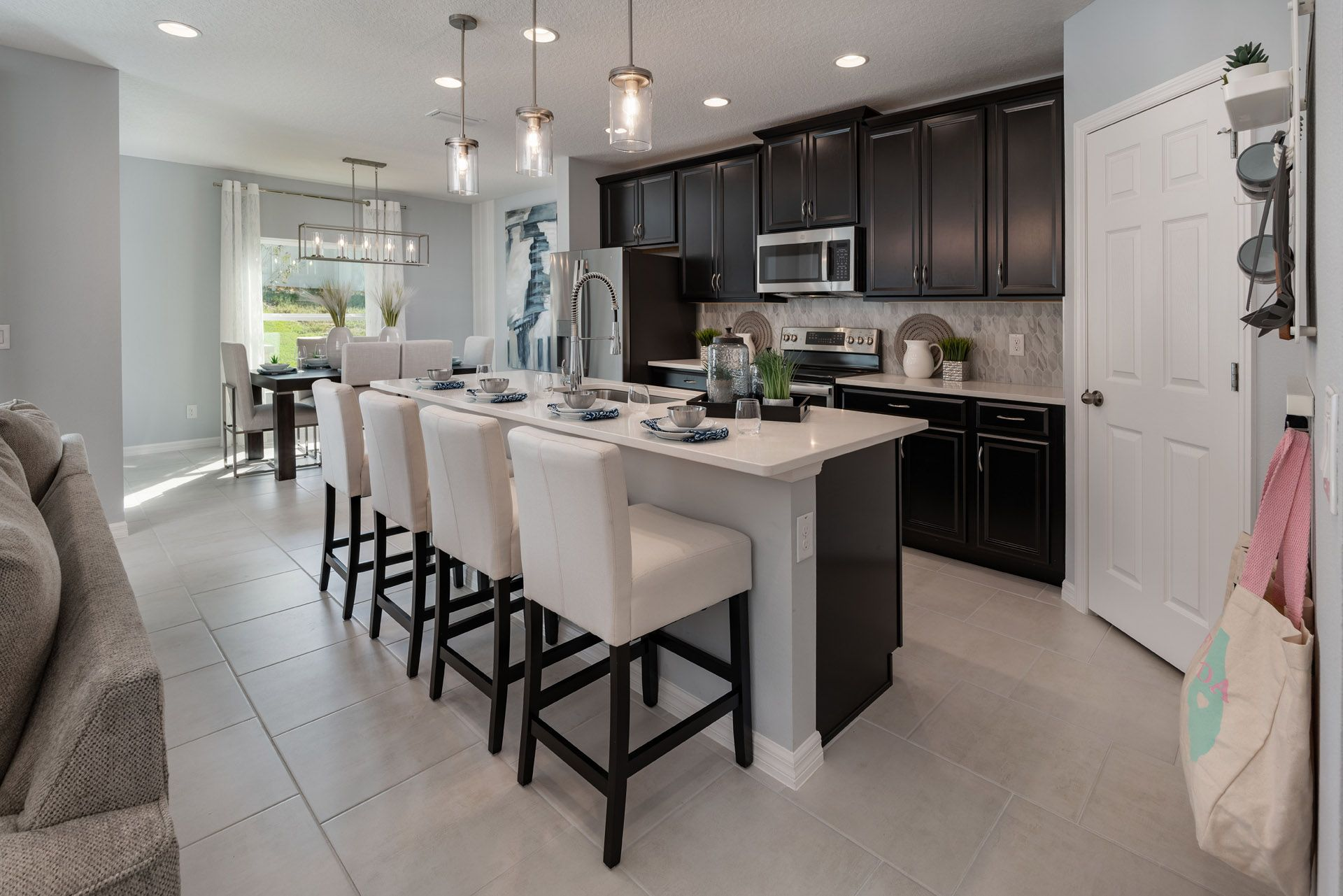 Kitchen featured in the Selby Flex By Hanover Family Builders in Lakeland-Winter Haven, FL