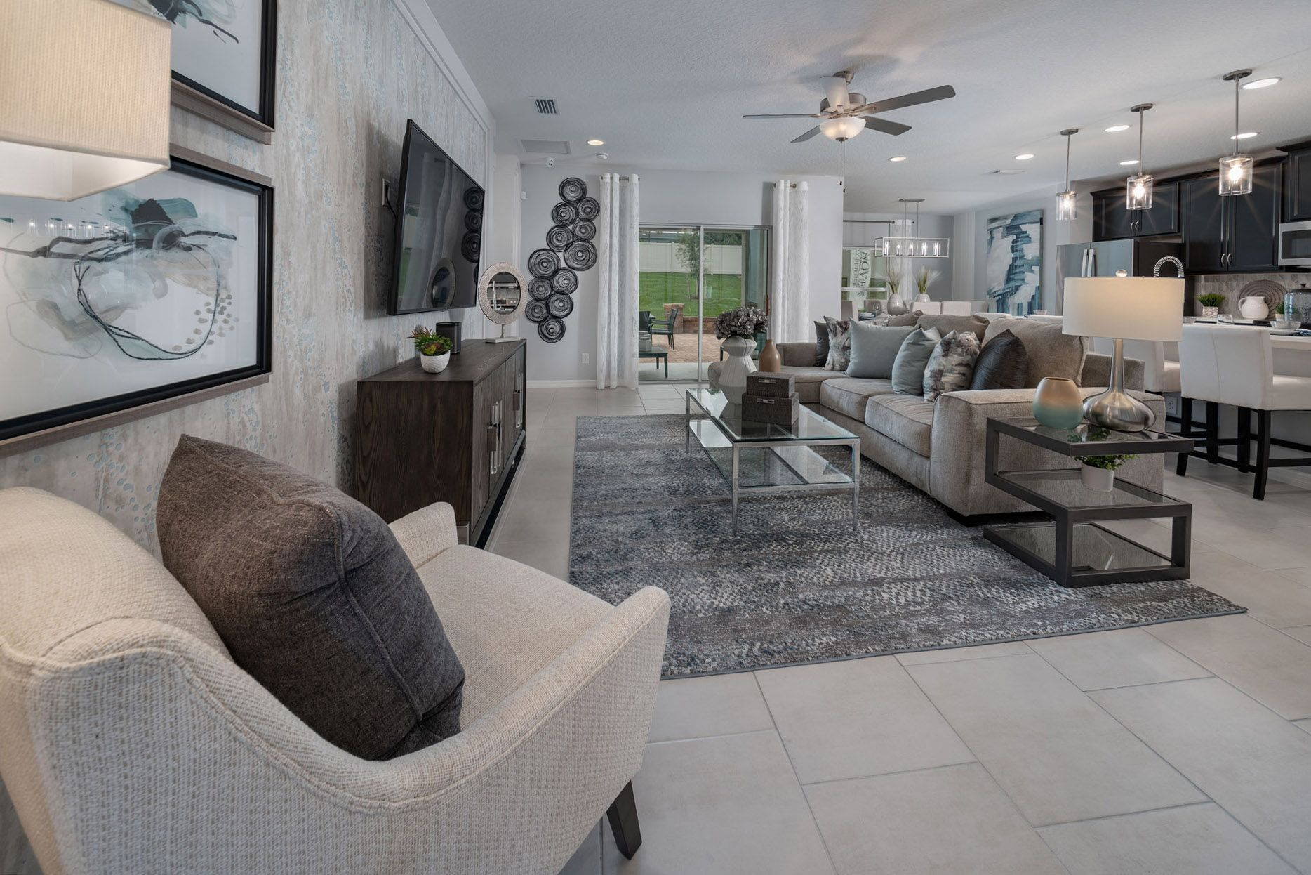 Living Area featured in the Selby Flex By Hanover Family Builders in Lakeland-Winter Haven, FL