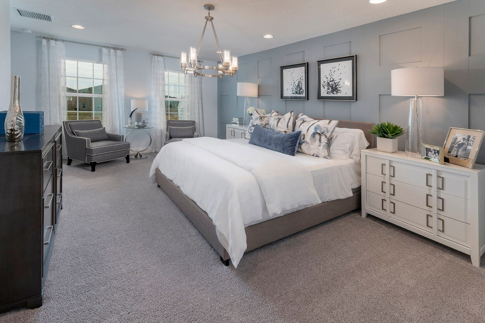 Bedroom featured in the Wilshire By Hanover Family Builders in Orlando, FL