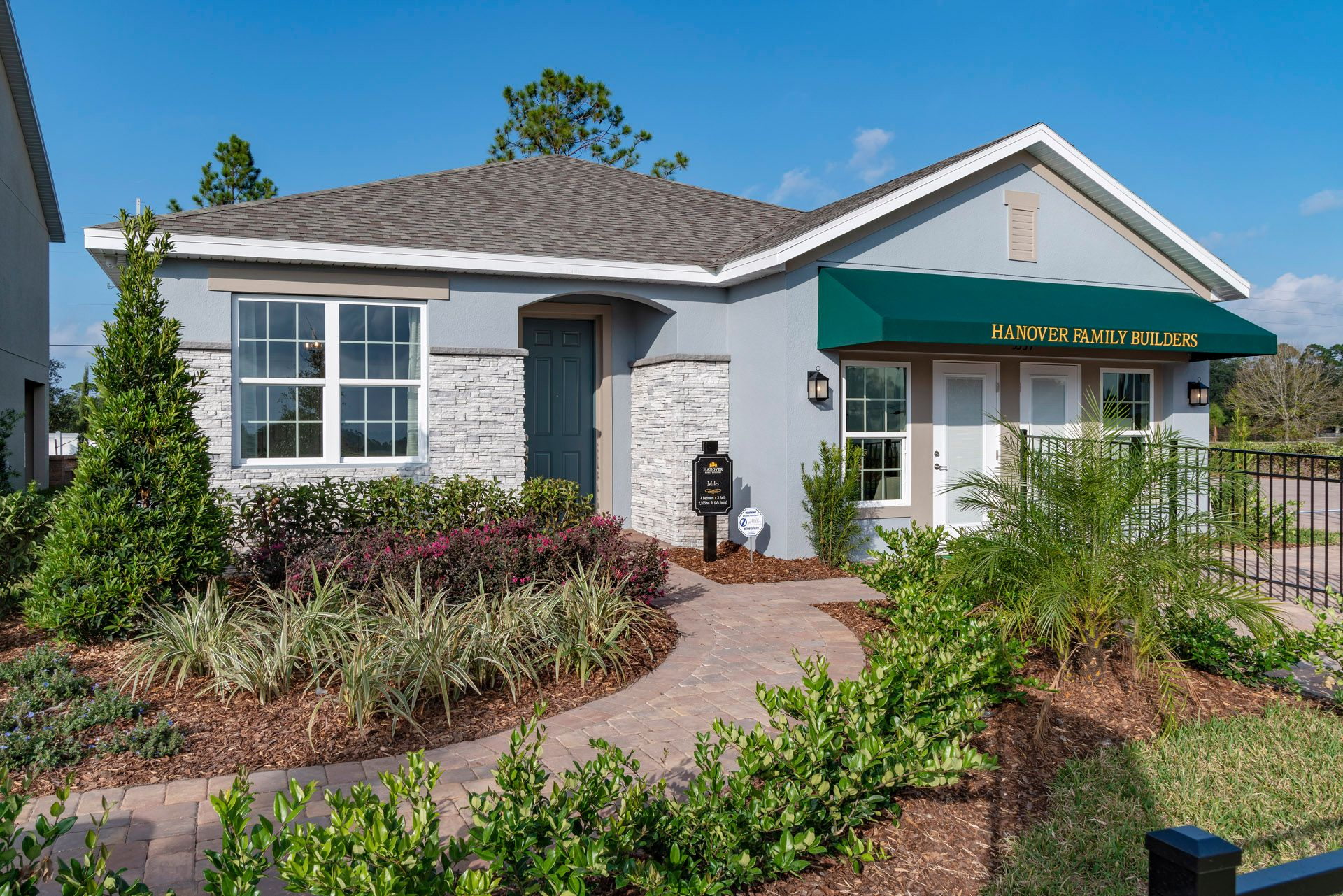 Exterior featured in the Miles By Hanover Family Builders in Lakeland-Winter Haven, FL