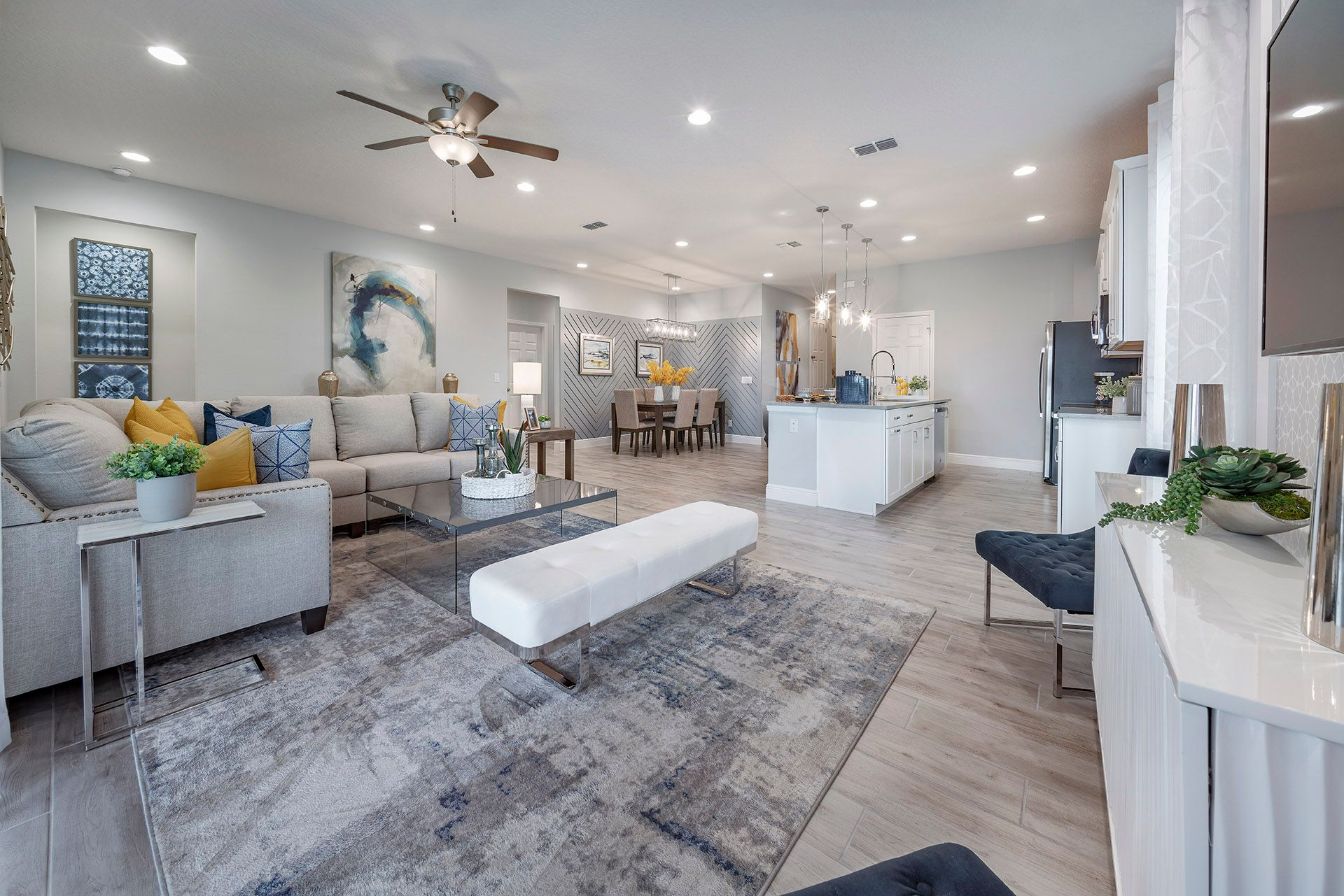Living Area featured in the Miles By Hanover Family Builders in Lakeland-Winter Haven, FL