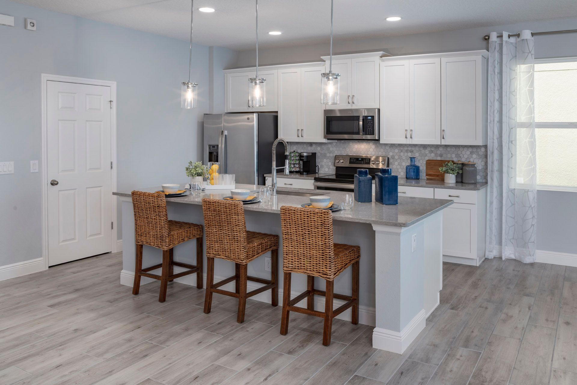 Kitchen featured in the Miles By Hanover Family Builders in Lakeland-Winter Haven, FL