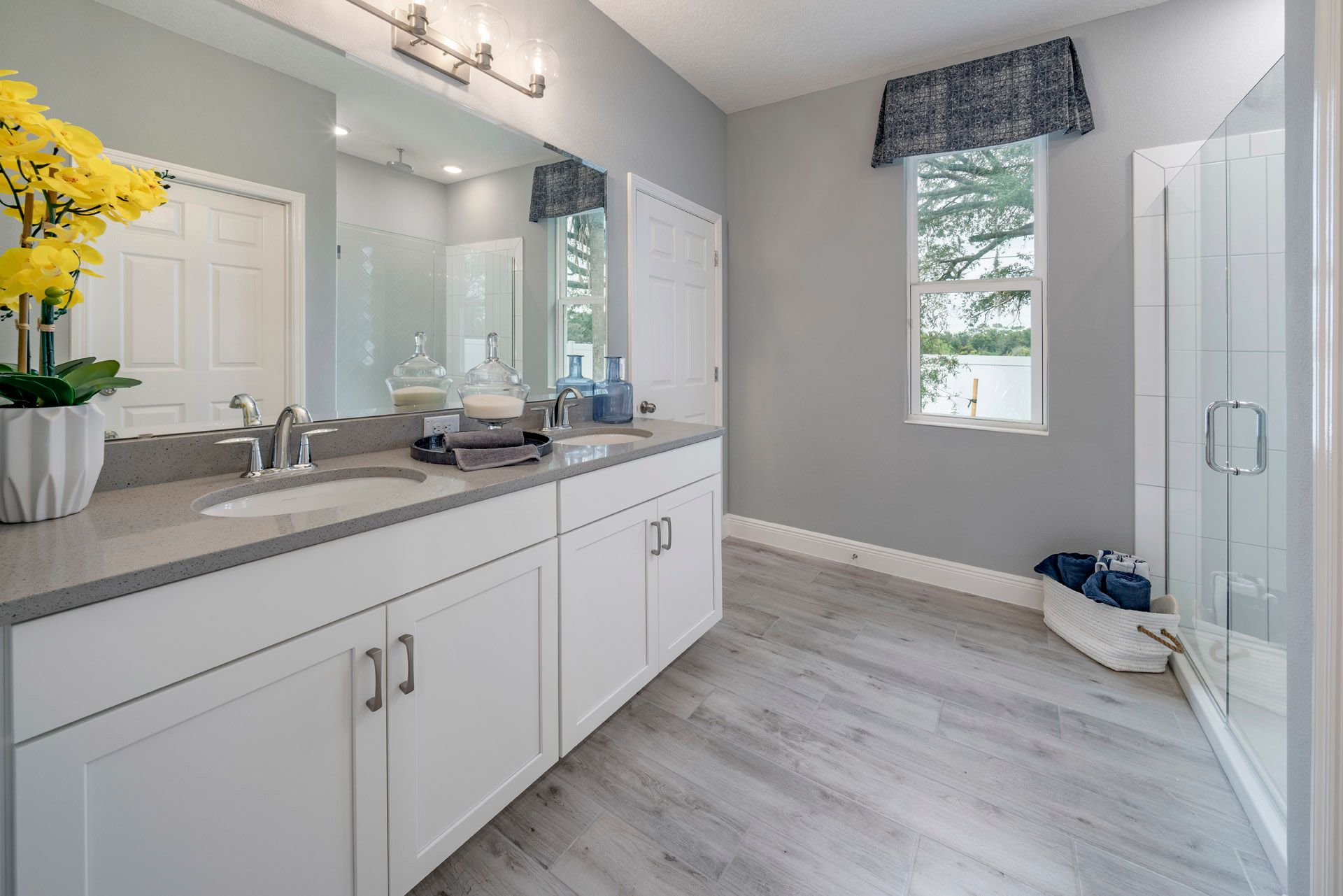 Bathroom featured in the Miles By Hanover Family Builders in Lakeland-Winter Haven, FL