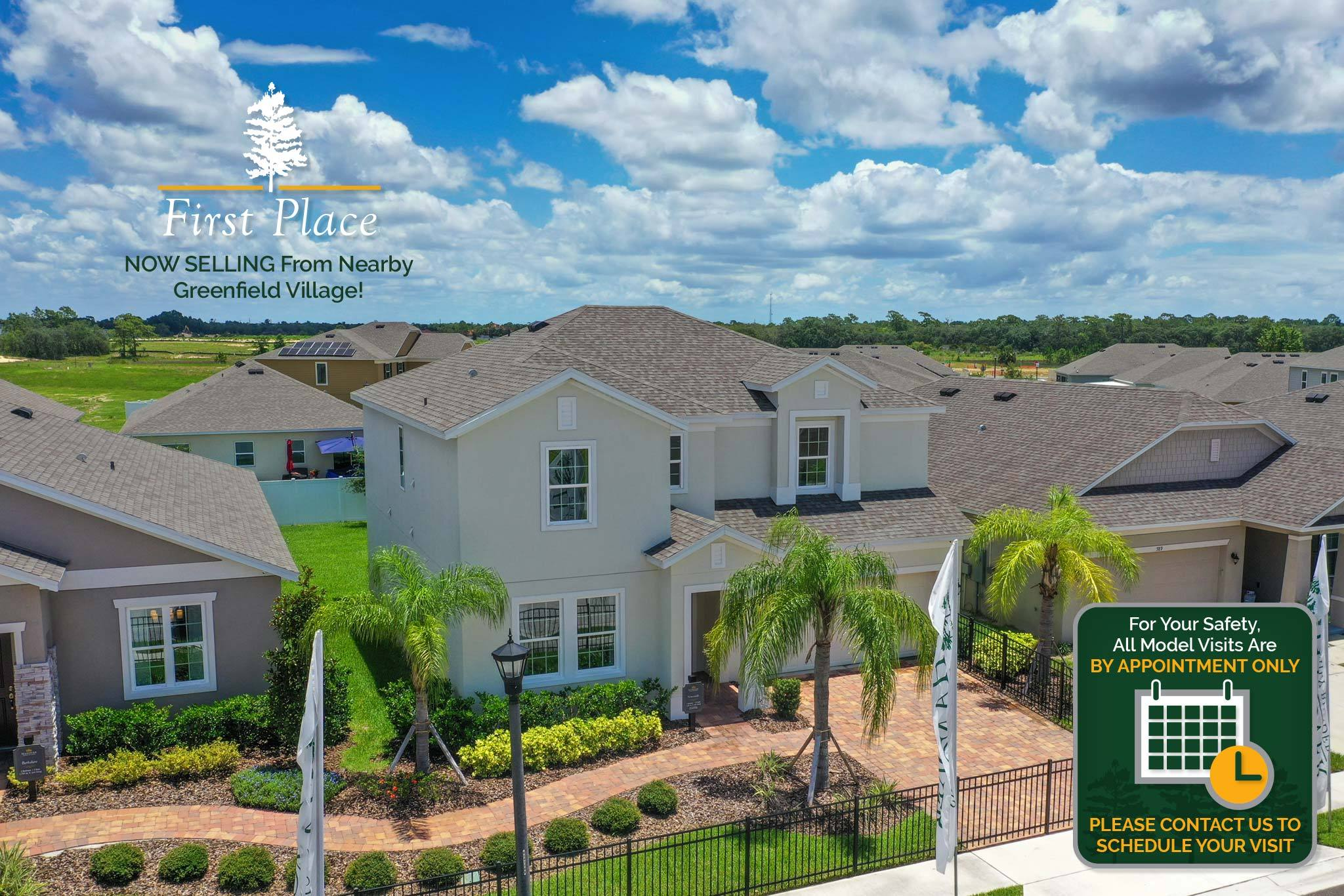'First Place' by Hanover Family Builders in Lakeland-Winter Haven