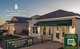 Preserve at Sunrise by Hanover Family Builders in Orlando Florida