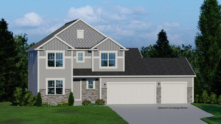 Bridgeport:Craftsman Elevation