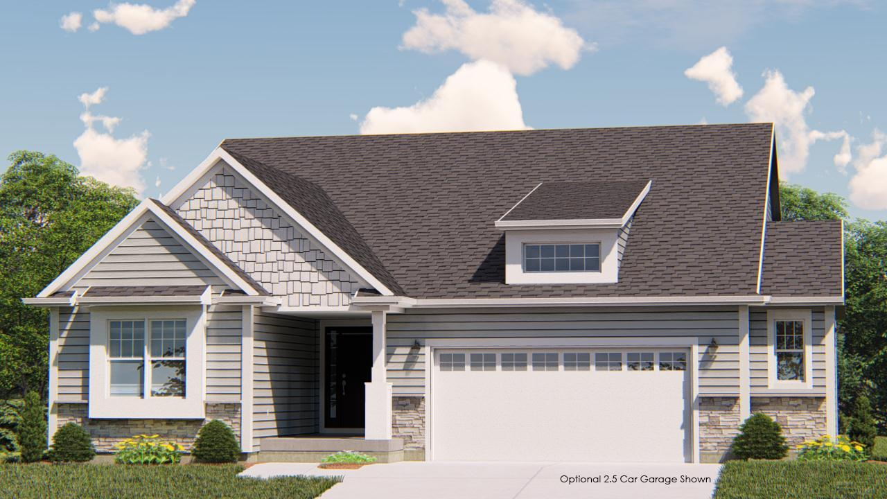 Exterior featured in the Coral By Harbor Homes in Washington-Fond du Lac, WI