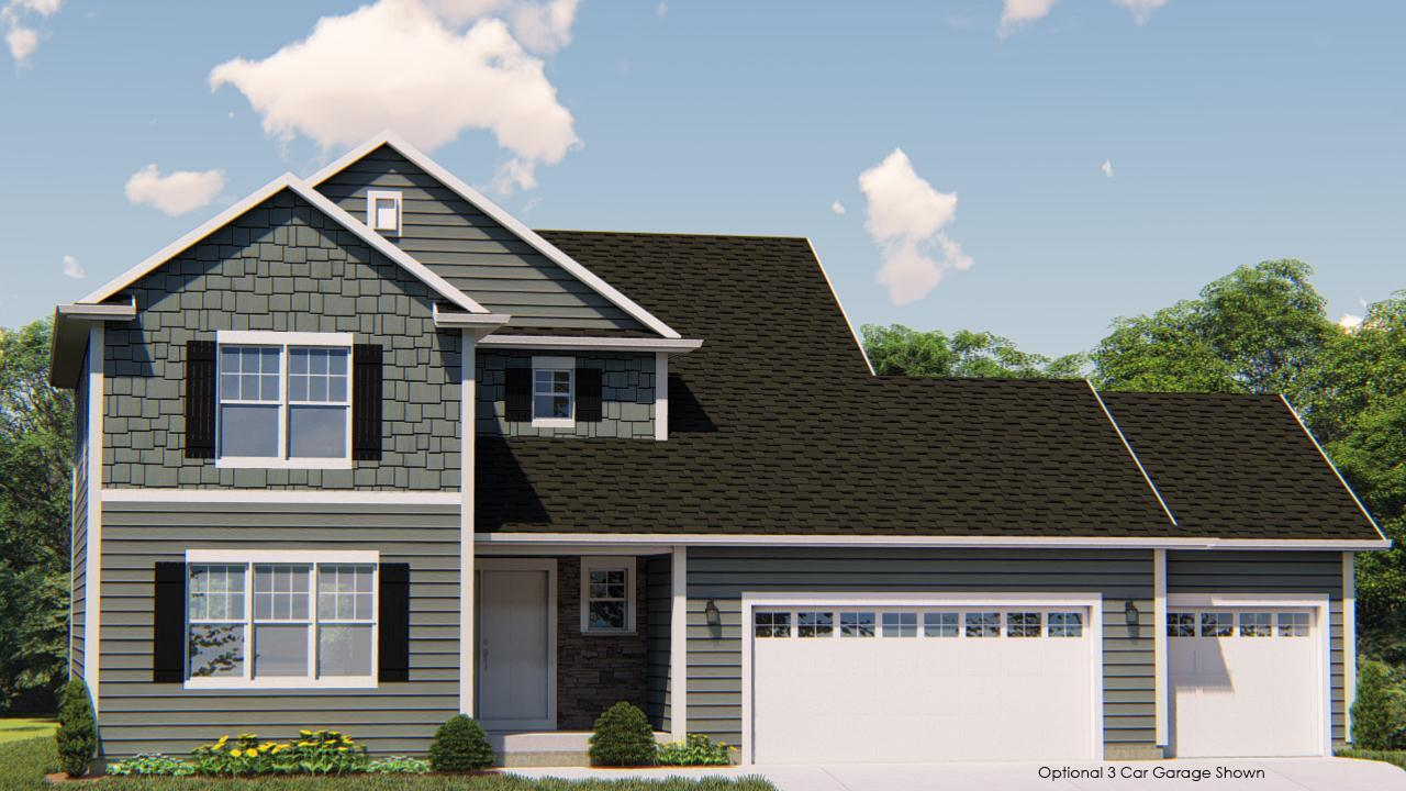 Exterior featured in the Dover By Harbor Homes in Washington-Fond du Lac, WI