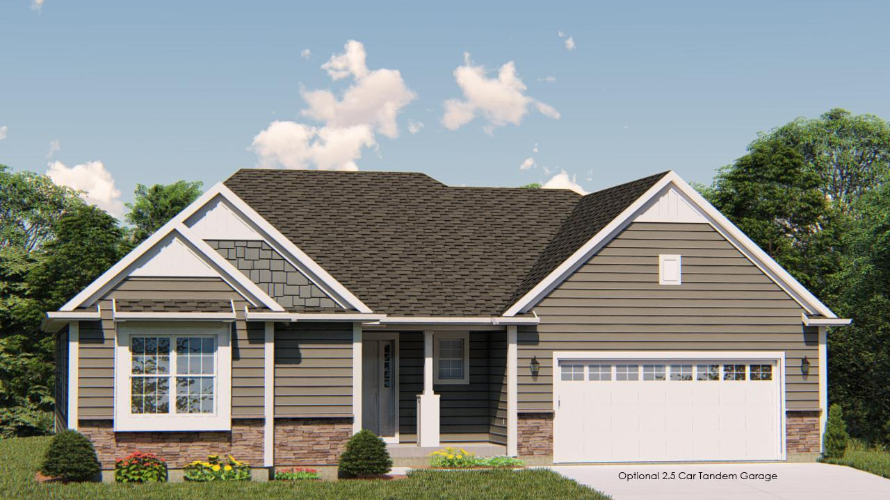 Exterior featured in the Drake By Harbor Homes in Ozaukee-Sheboygan, WI