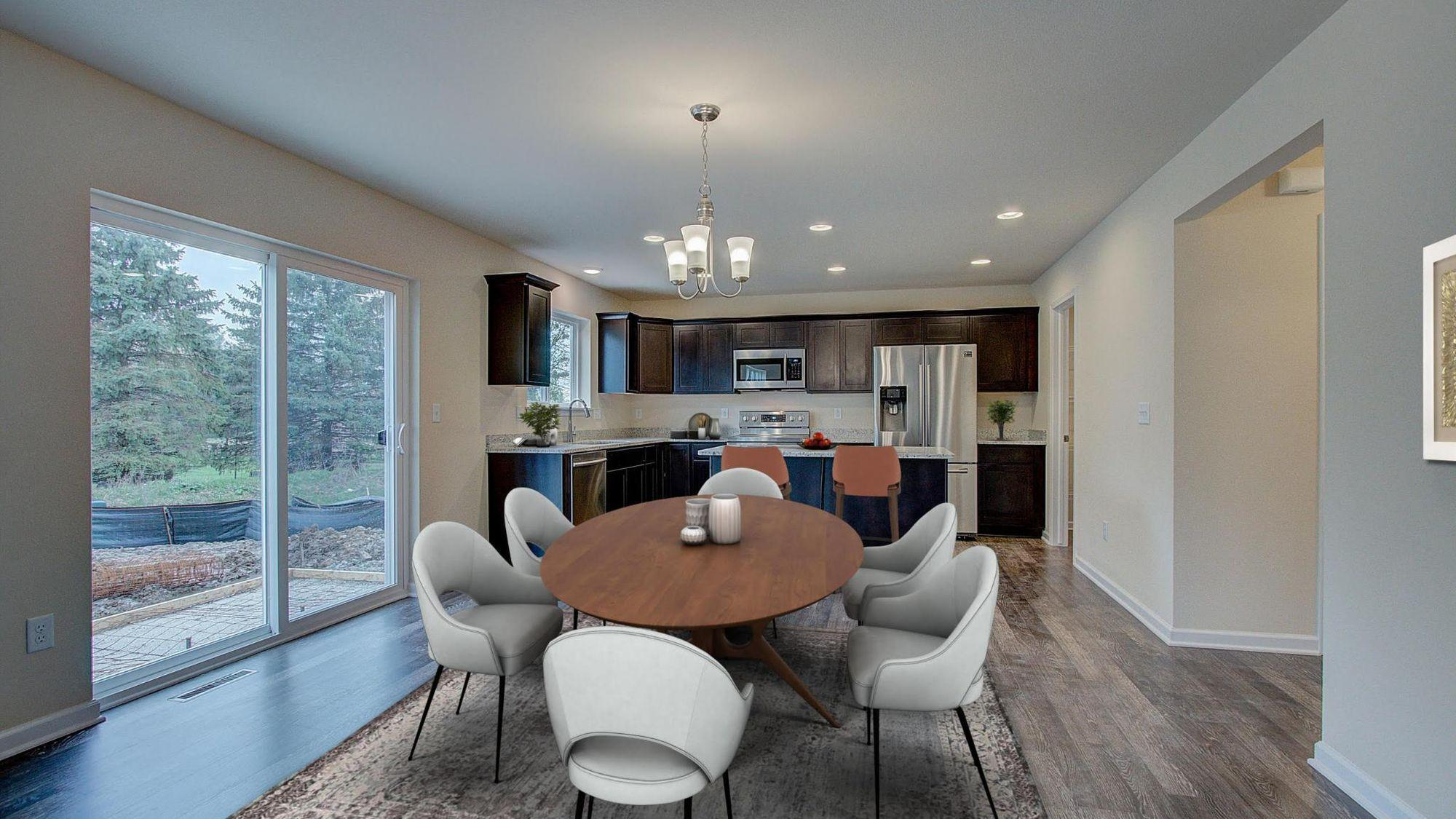 Living Area featured in the Bridgeport By Harbor Homes in Ozaukee-Sheboygan, WI