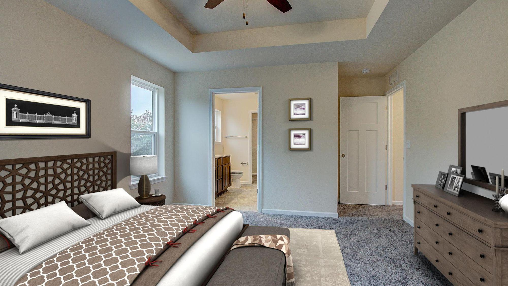 Bedroom featured in the Bridgeport By Harbor Homes in Ozaukee-Sheboygan, WI
