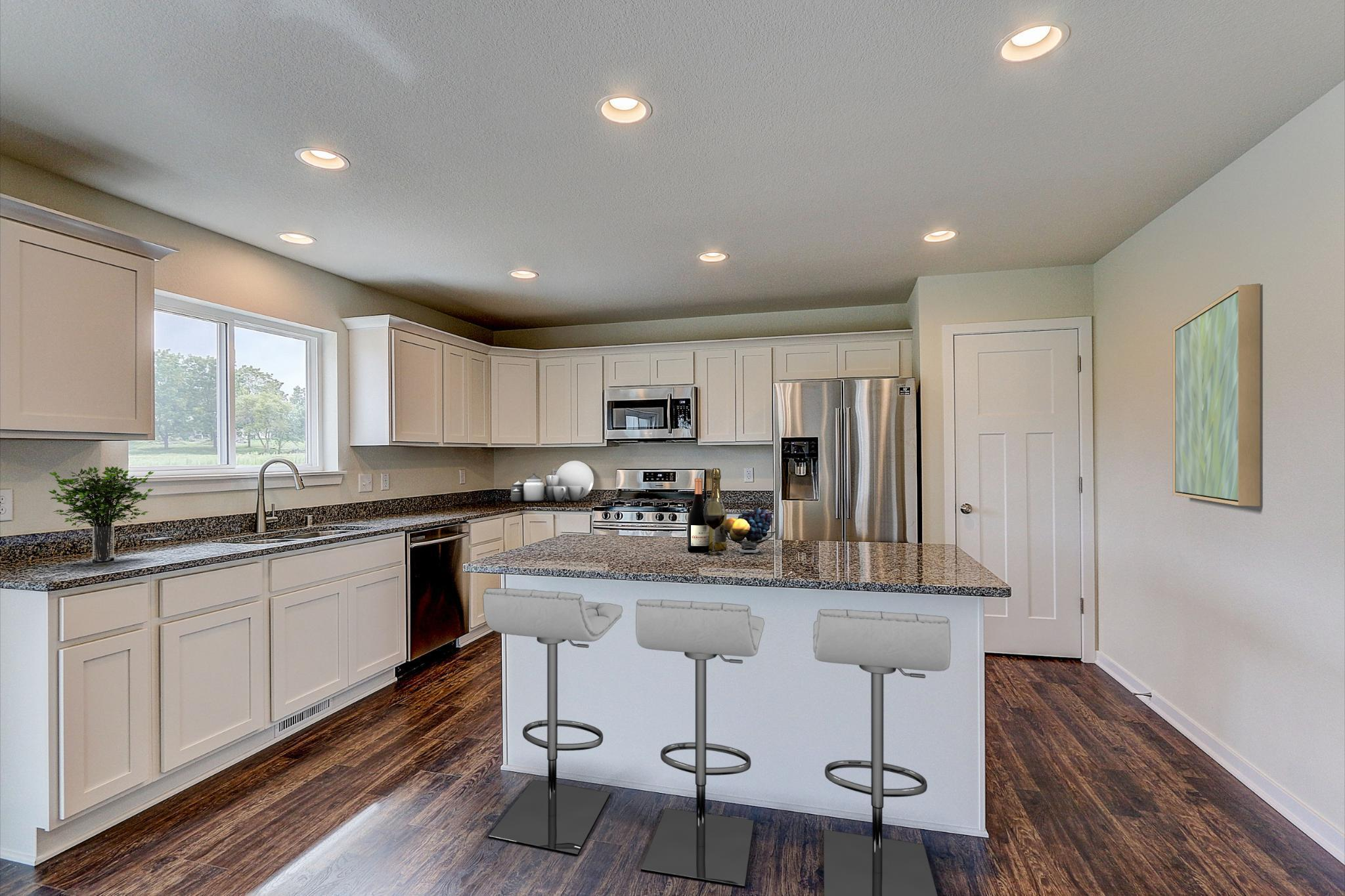 Kitchen featured in the Catalina By Harbor Homes in Washington-Fond du Lac, WI