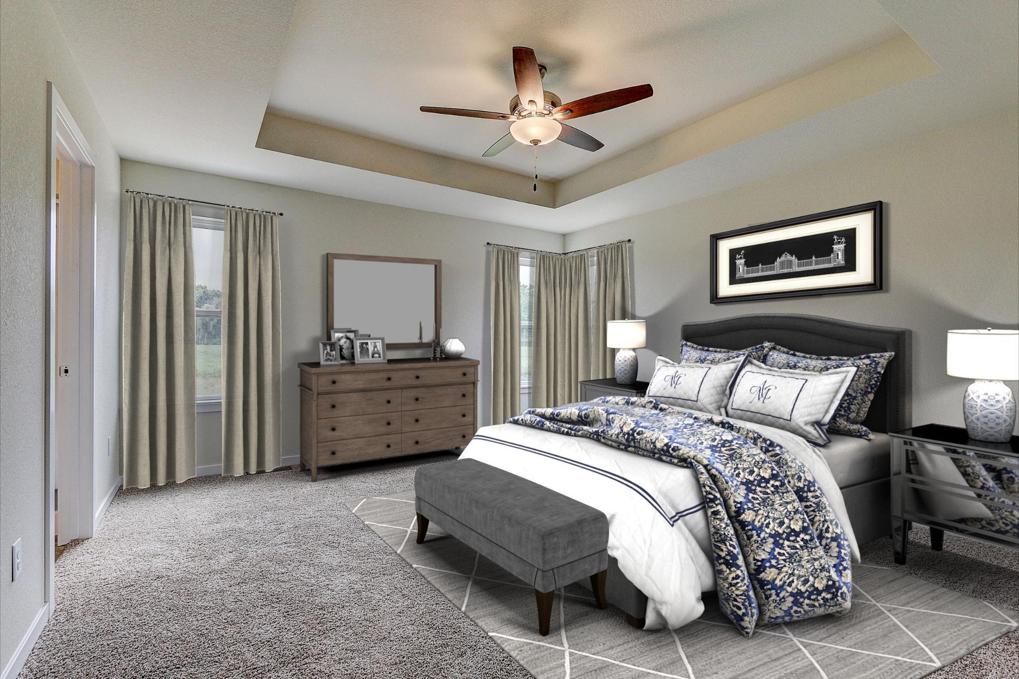 Bedroom featured in the Catalina By Harbor Homes in Ozaukee-Sheboygan, WI