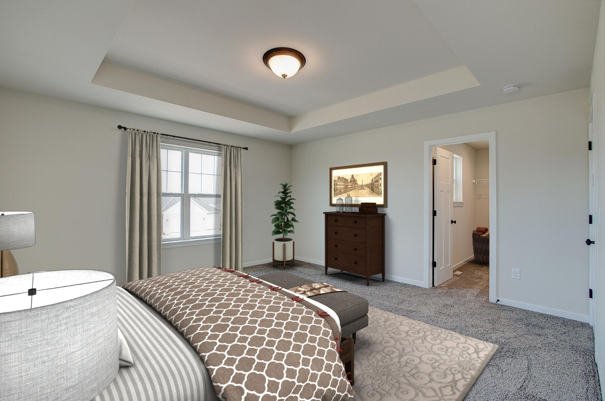 Bedroom featured in the Dover By Harbor Homes in Ozaukee-Sheboygan, WI