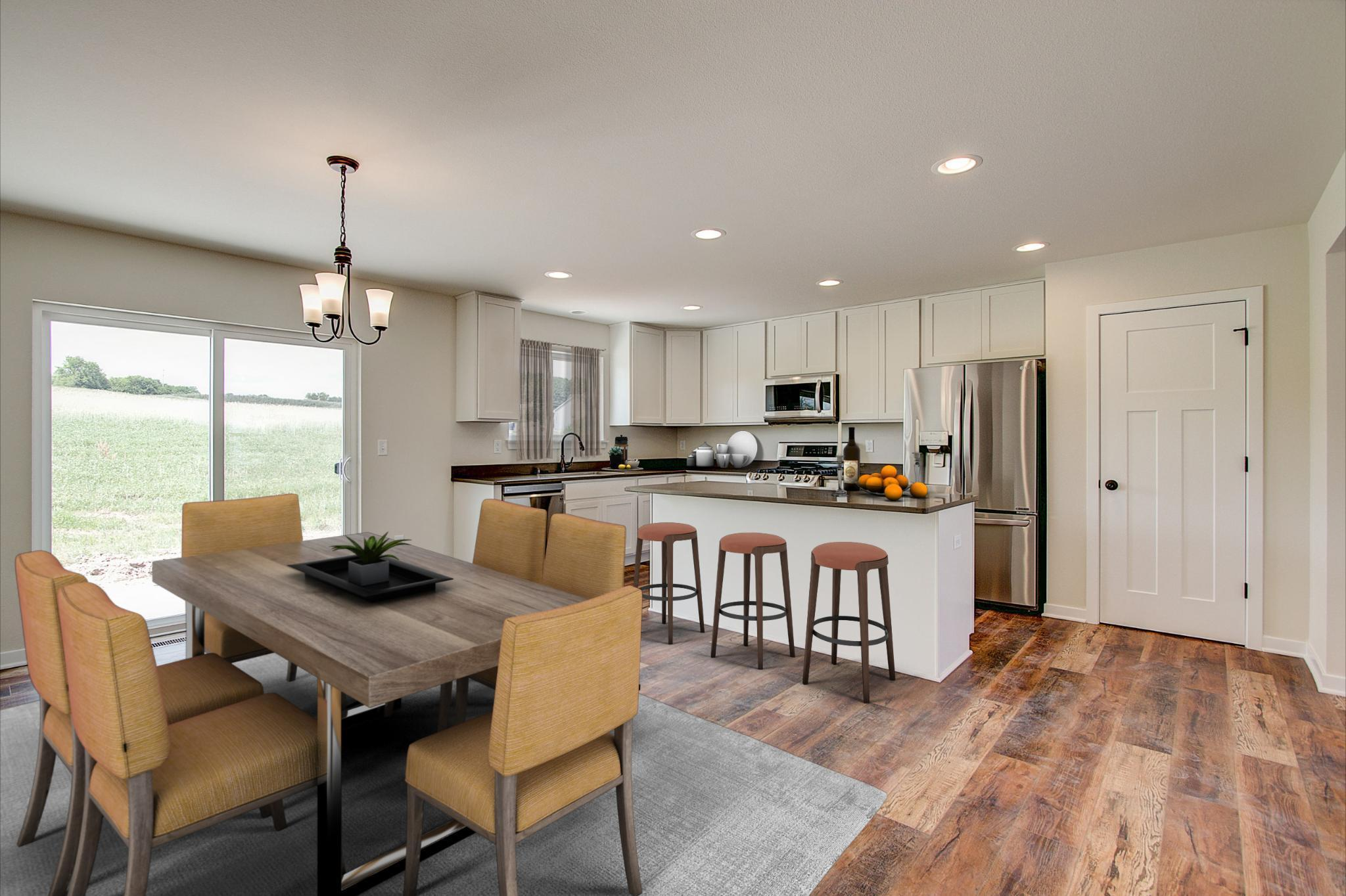 Kitchen featured in the Dover By Harbor Homes in Washington-Fond du Lac, WI