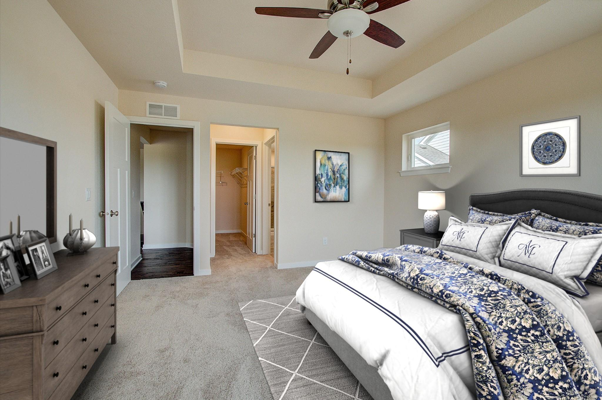 Bedroom featured in the Drake By Harbor Homes in Ozaukee-Sheboygan, WI