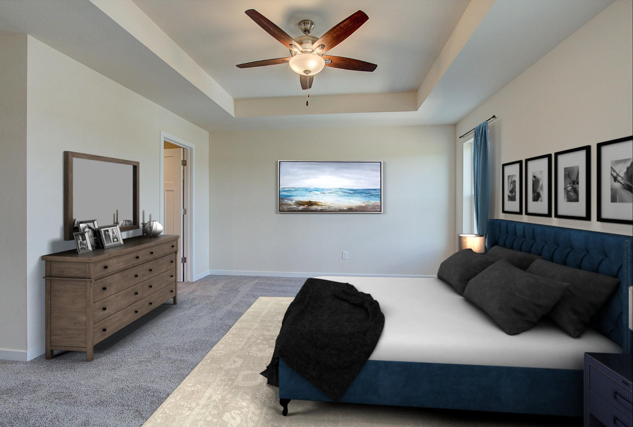 Bedroom featured in the Hudson By Harbor Homes in Ozaukee-Sheboygan, WI