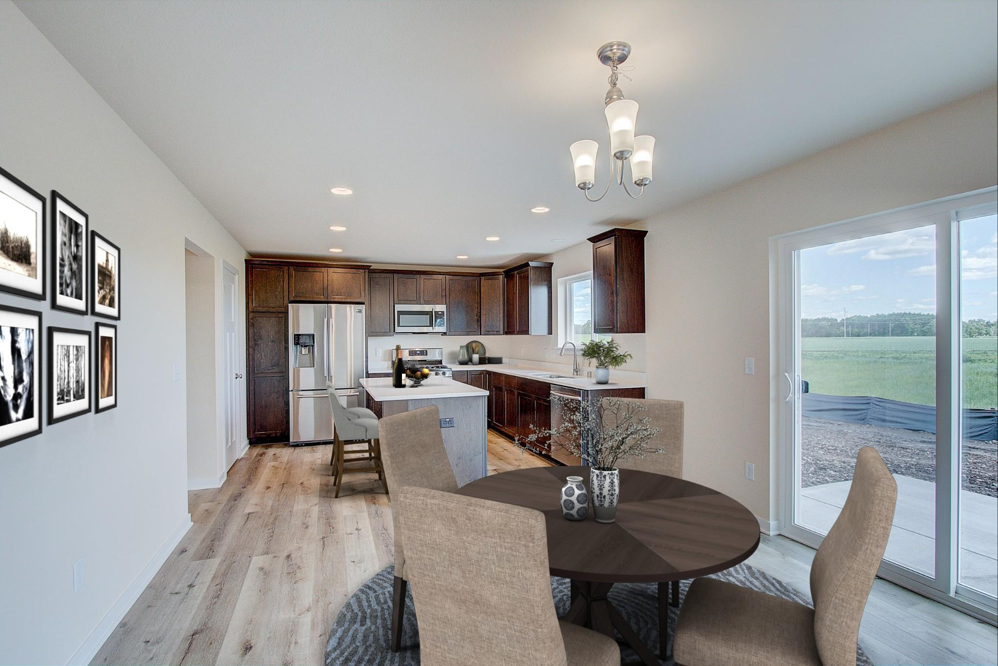 Kitchen featured in the Hudson By Harbor Homes in Washington-Fond du Lac, WI