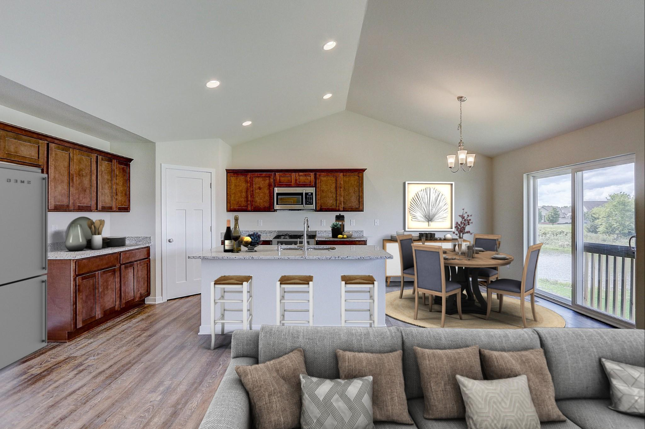 Kitchen featured in the Saybrook By Harbor Homes in Washington-Fond du Lac, WI