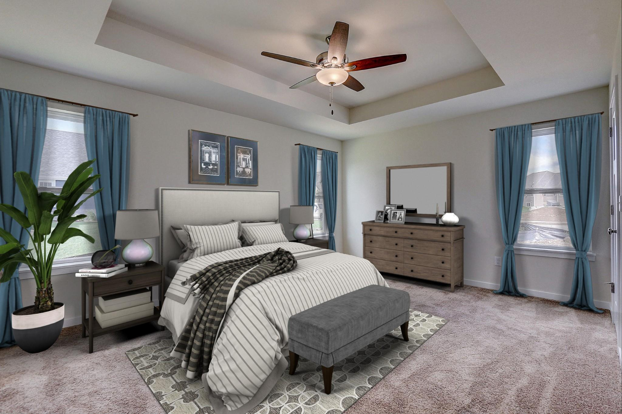 Bedroom featured in the Saybrook By Harbor Homes in Ozaukee-Sheboygan, WI