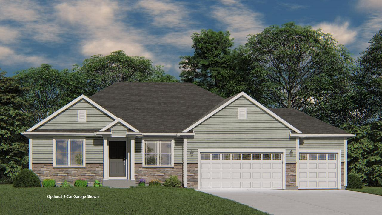 Exterior featured in the Charleston By Harbor Homes in Washington-Fond du Lac, WI