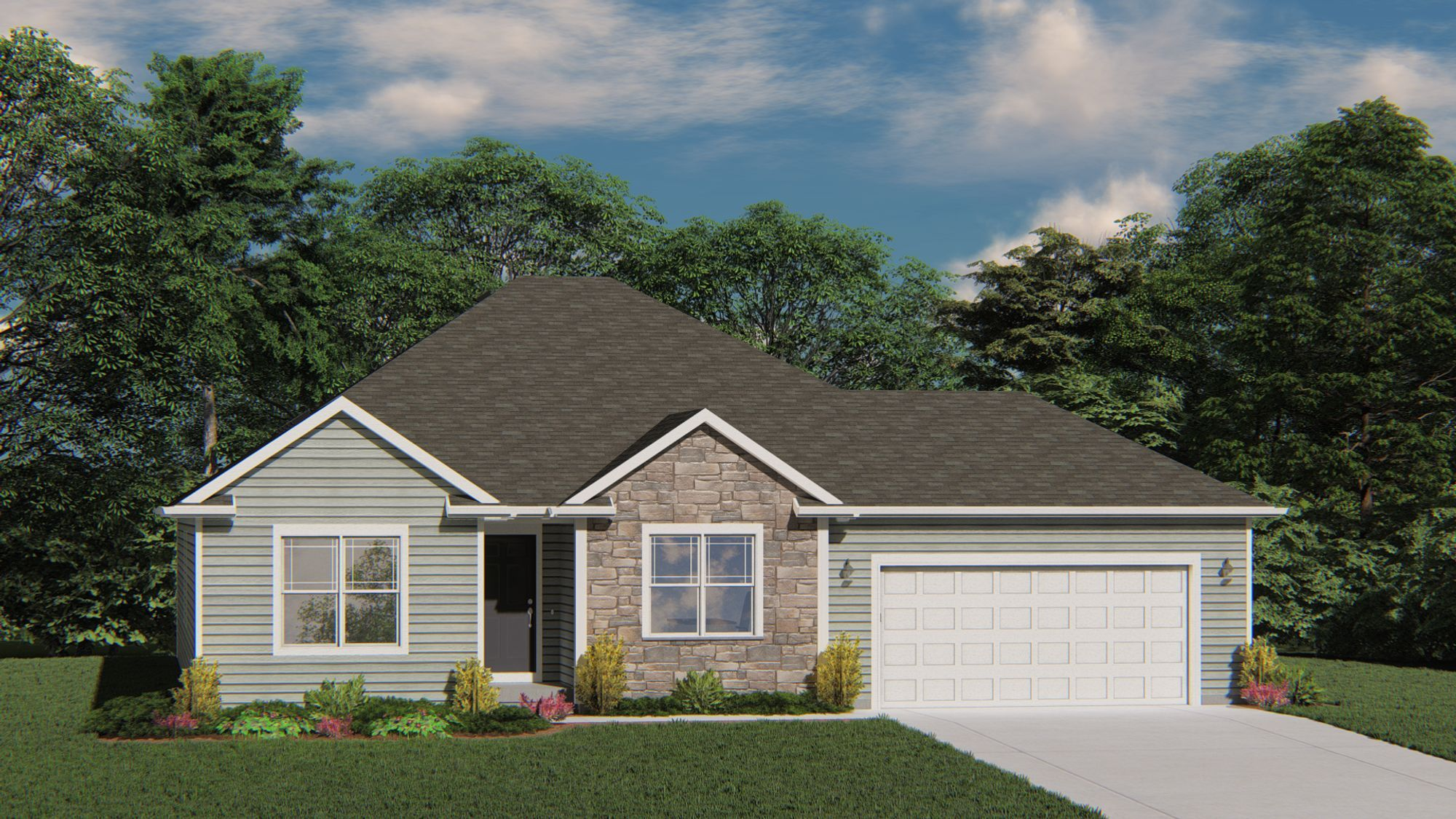 Exterior featured in The Adrian By Harbor Homes in Washington-Fond du Lac, WI