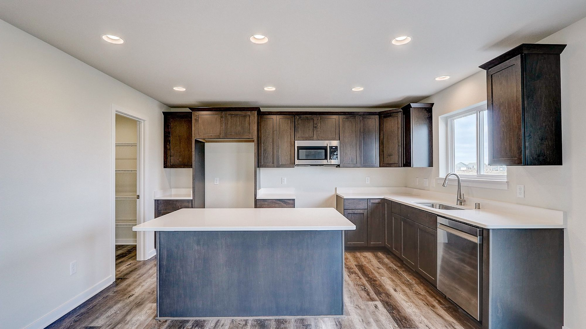Kitchen featured in The Bridgeport By Harbor Homes in Washington-Fond du Lac, WI