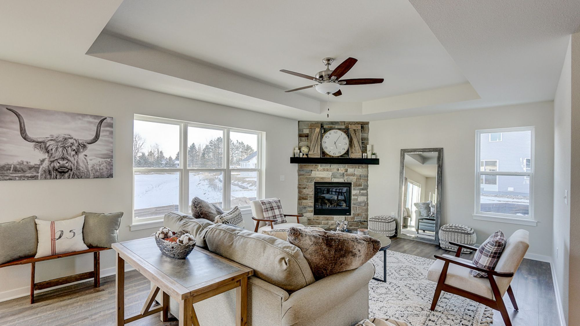 Living Area featured in The Caspian By Harbor Homes in Washington-Fond du Lac, WI