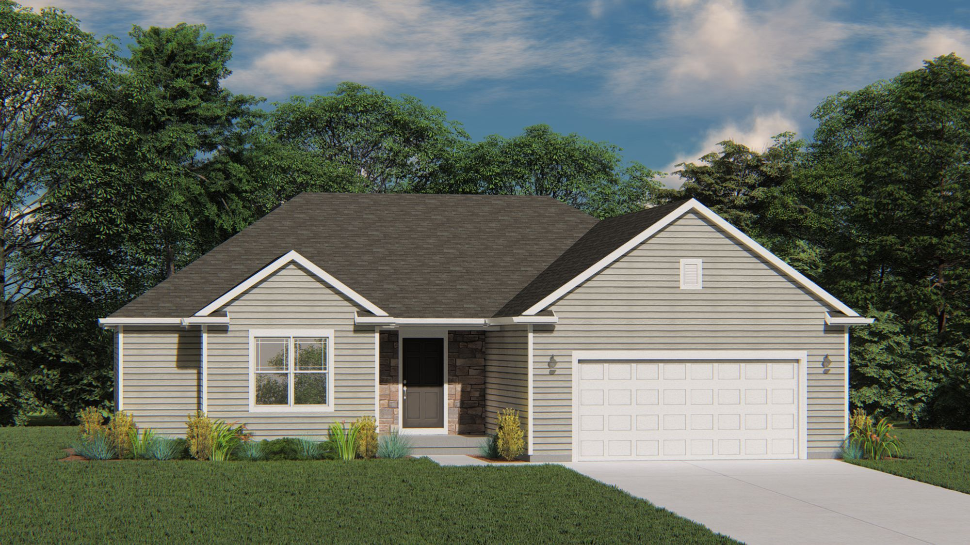 Exterior featured in The Caspian By Harbor Homes in Ozaukee-Sheboygan, WI