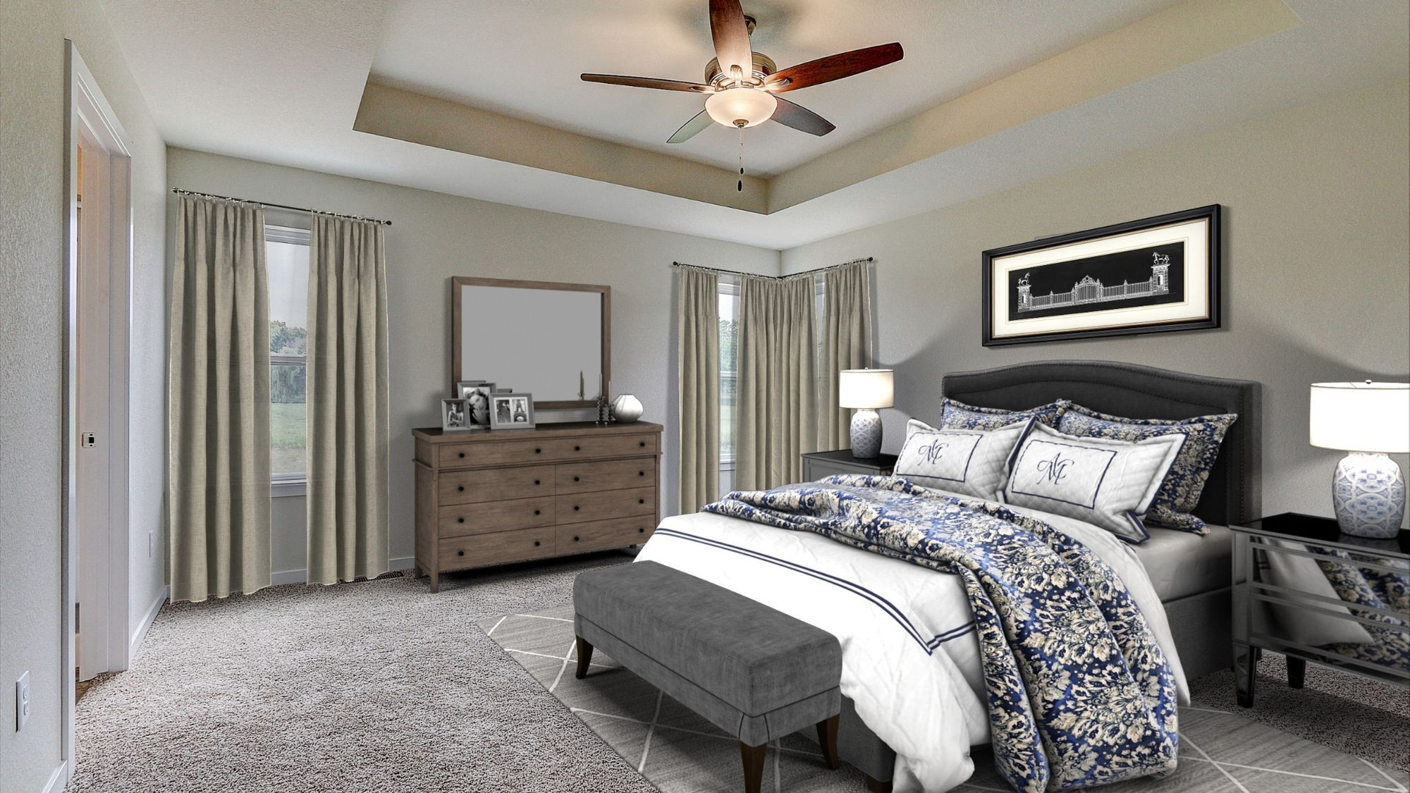 Bedroom featured in The Catalina By Harbor Homes in Washington-Fond du Lac, WI