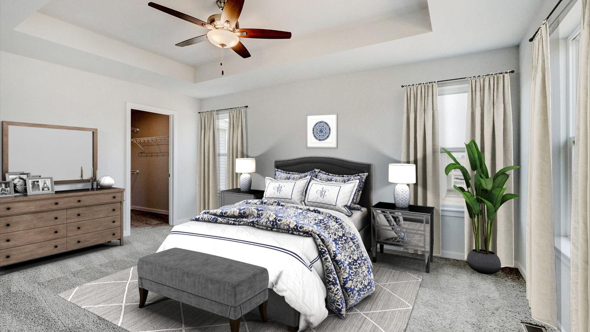 Bedroom featured in The Charleston By Harbor Homes in Washington-Fond du Lac, WI