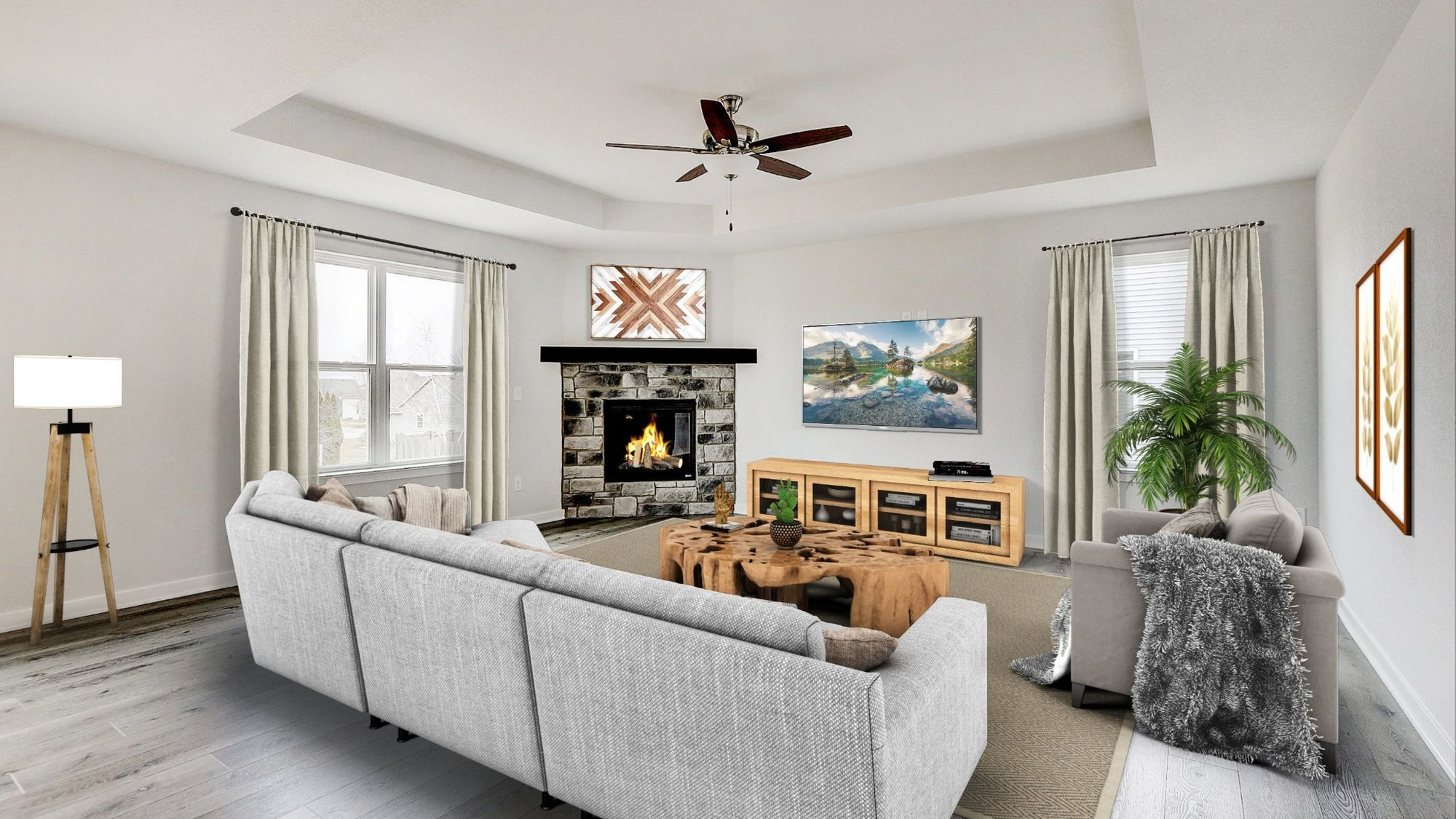 Living Area featured in The Charleston By Harbor Homes in Milwaukee-Waukesha, WI