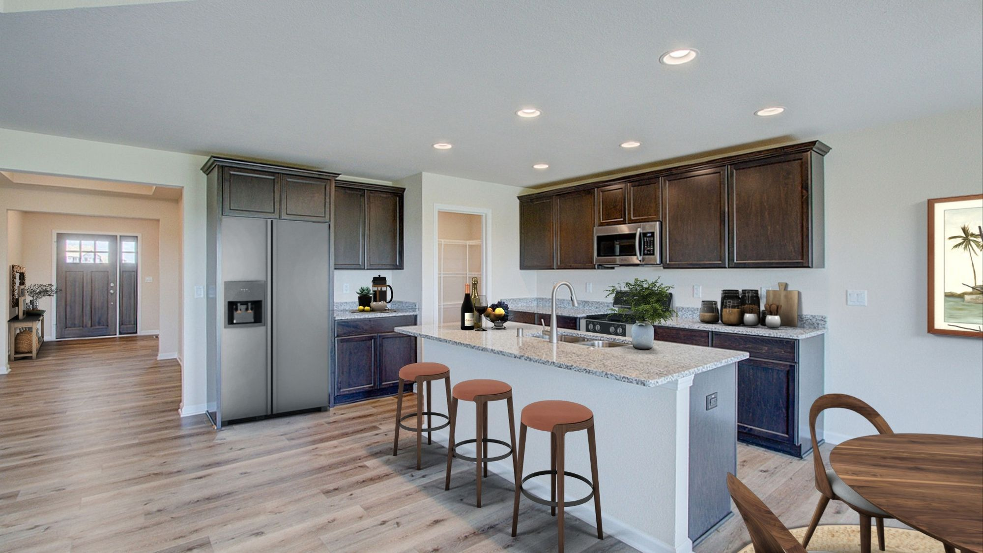 Kitchen featured in The Coral By Harbor Homes in Washington-Fond du Lac, WI