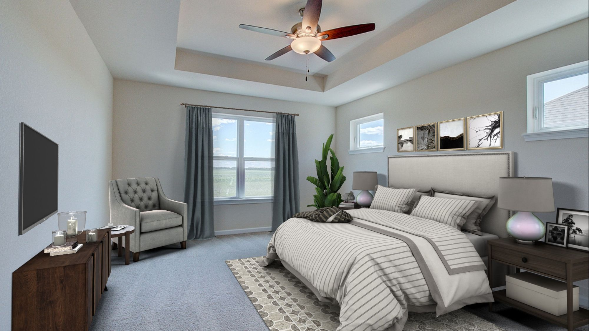 Bedroom featured in The Coral By Harbor Homes in Washington-Fond du Lac, WI