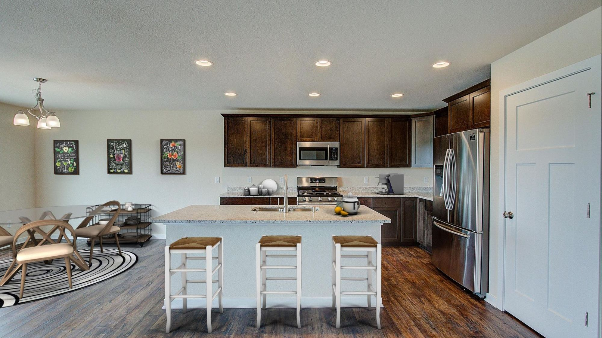 Kitchen featured in The Drake By Harbor Homes in Washington-Fond du Lac, WI