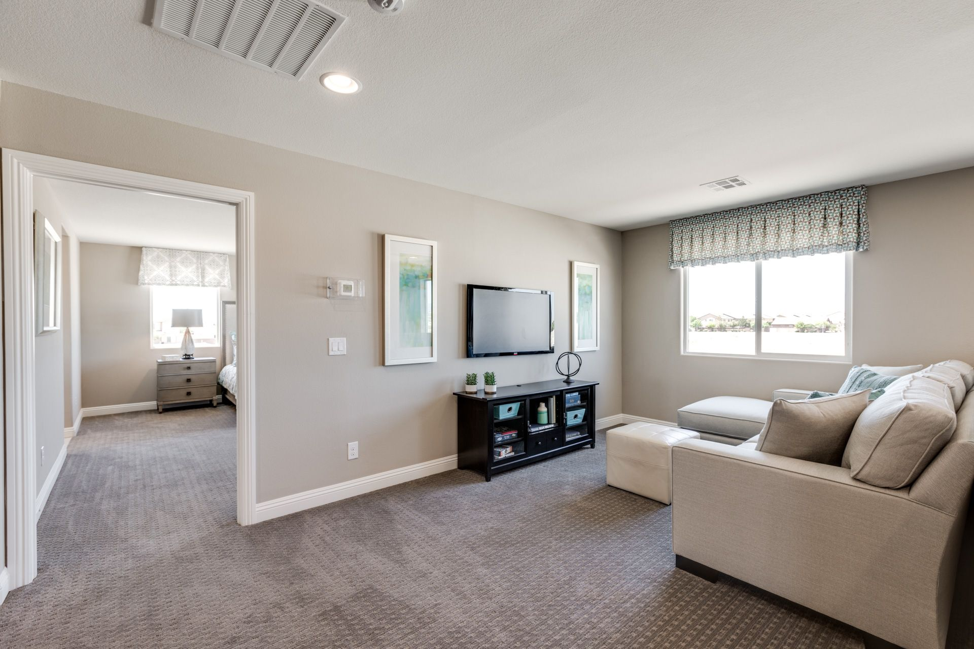 Living Area featured in the Residence 2370 By Harmony Homes - Las Vegas in Las Vegas, NV