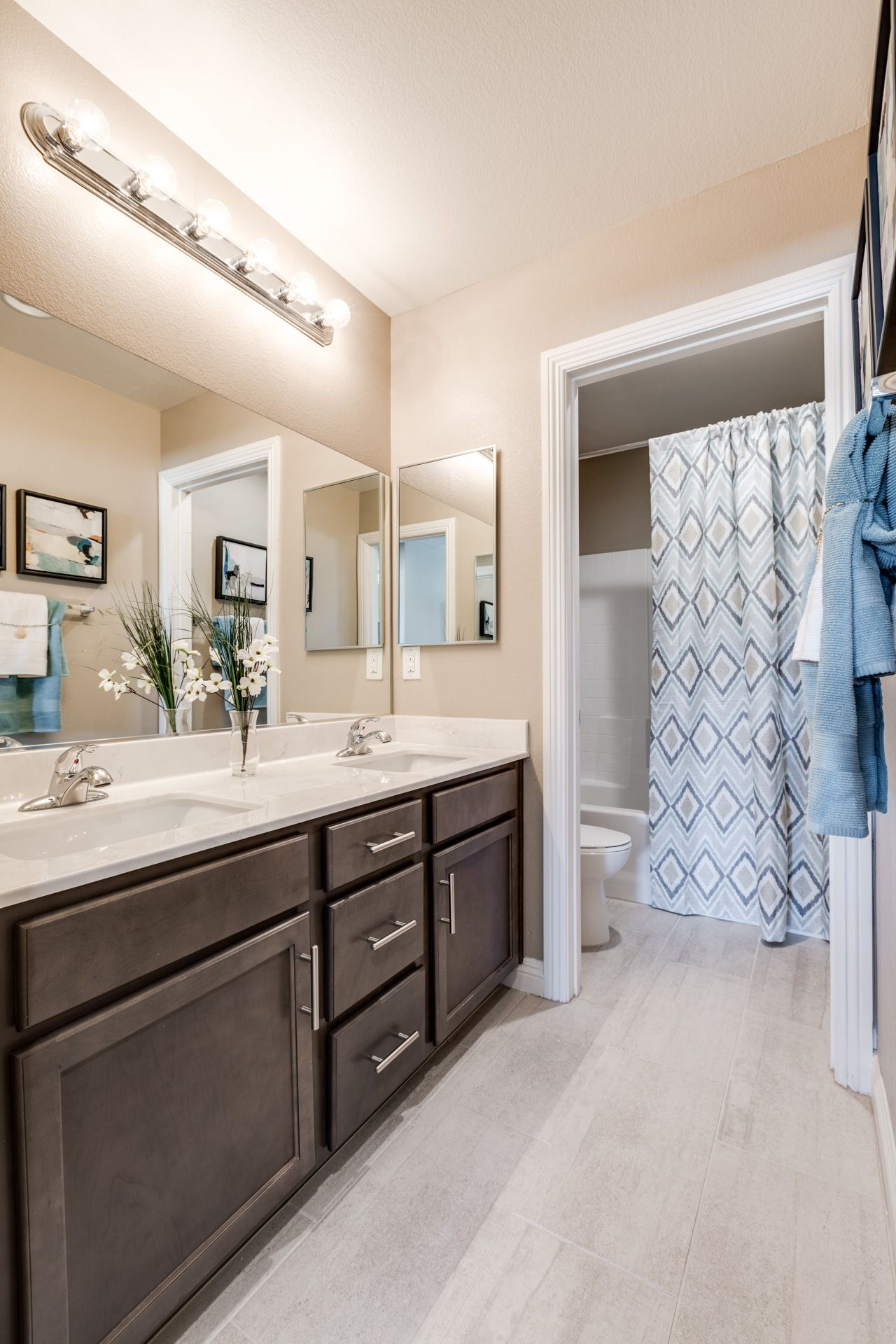 Bathroom featured in the Residence 2370 By Harmony Homes - Las Vegas in Las Vegas, NV