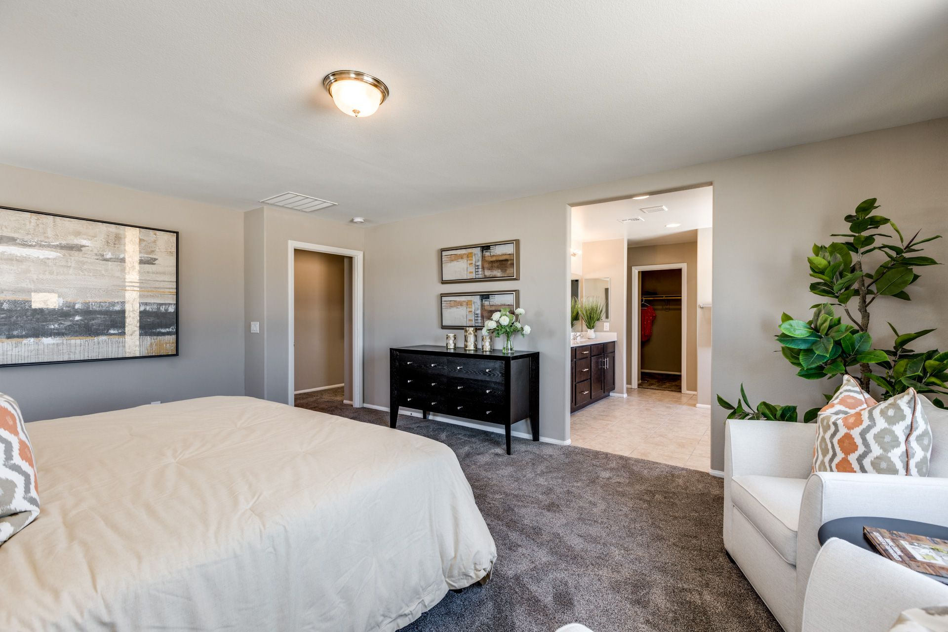 Bedroom featured in the Residence 1924 By Harmony Homes - Las Vegas in Las Vegas, NV