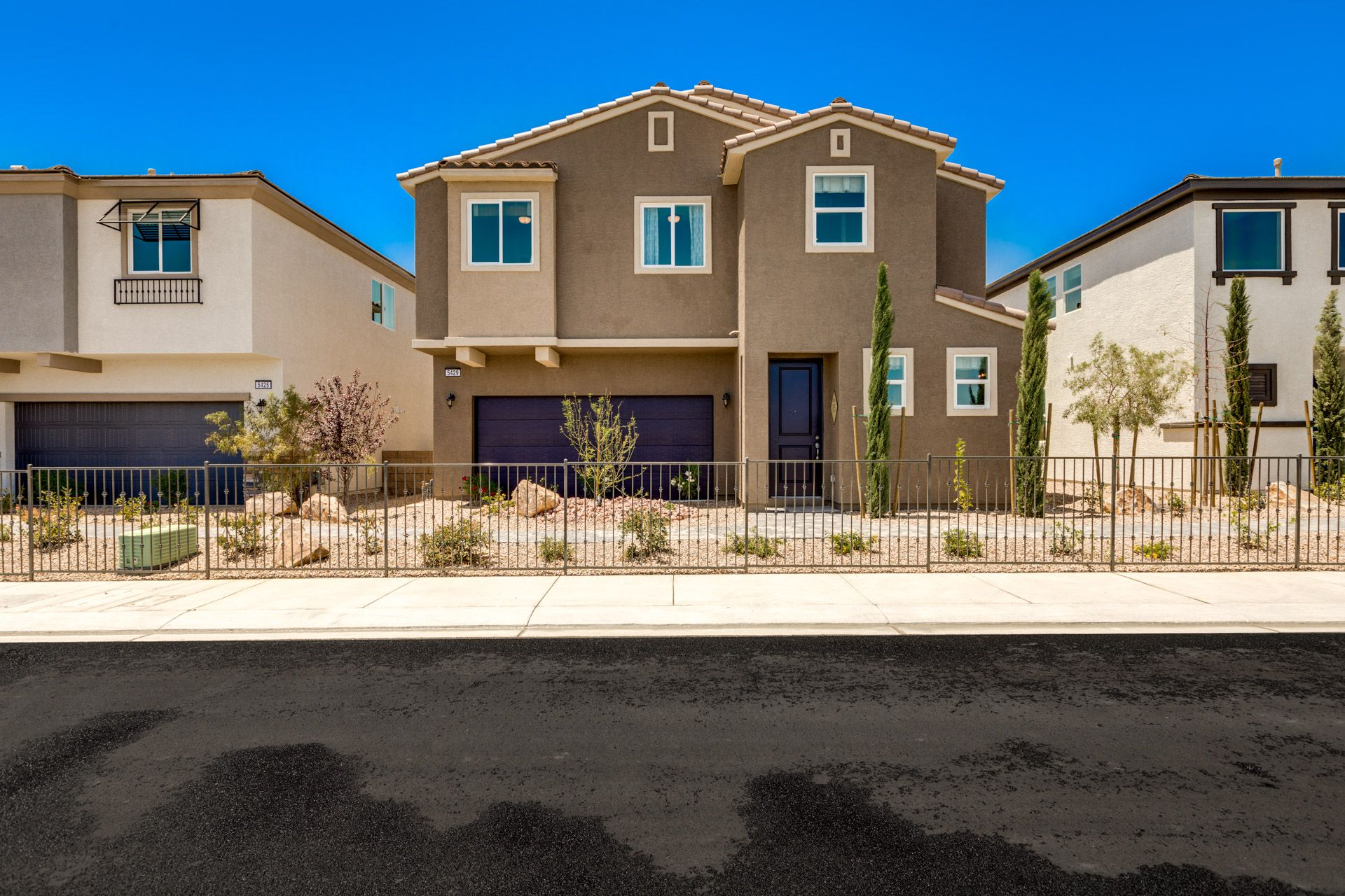 Exterior featured in the Residence 2275 By Harmony Homes - Las Vegas in Las Vegas, NV