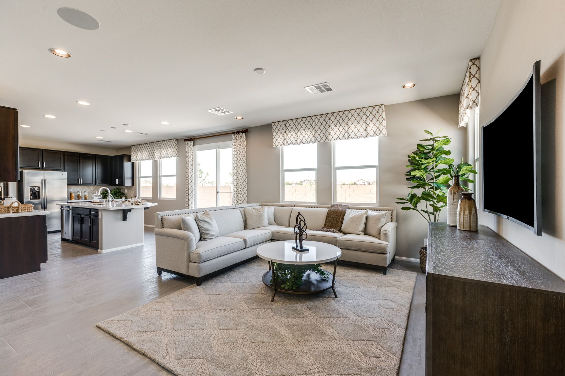 Living Area featured in the Residence 2275 By Harmony Homes - Las Vegas in Las Vegas, NV