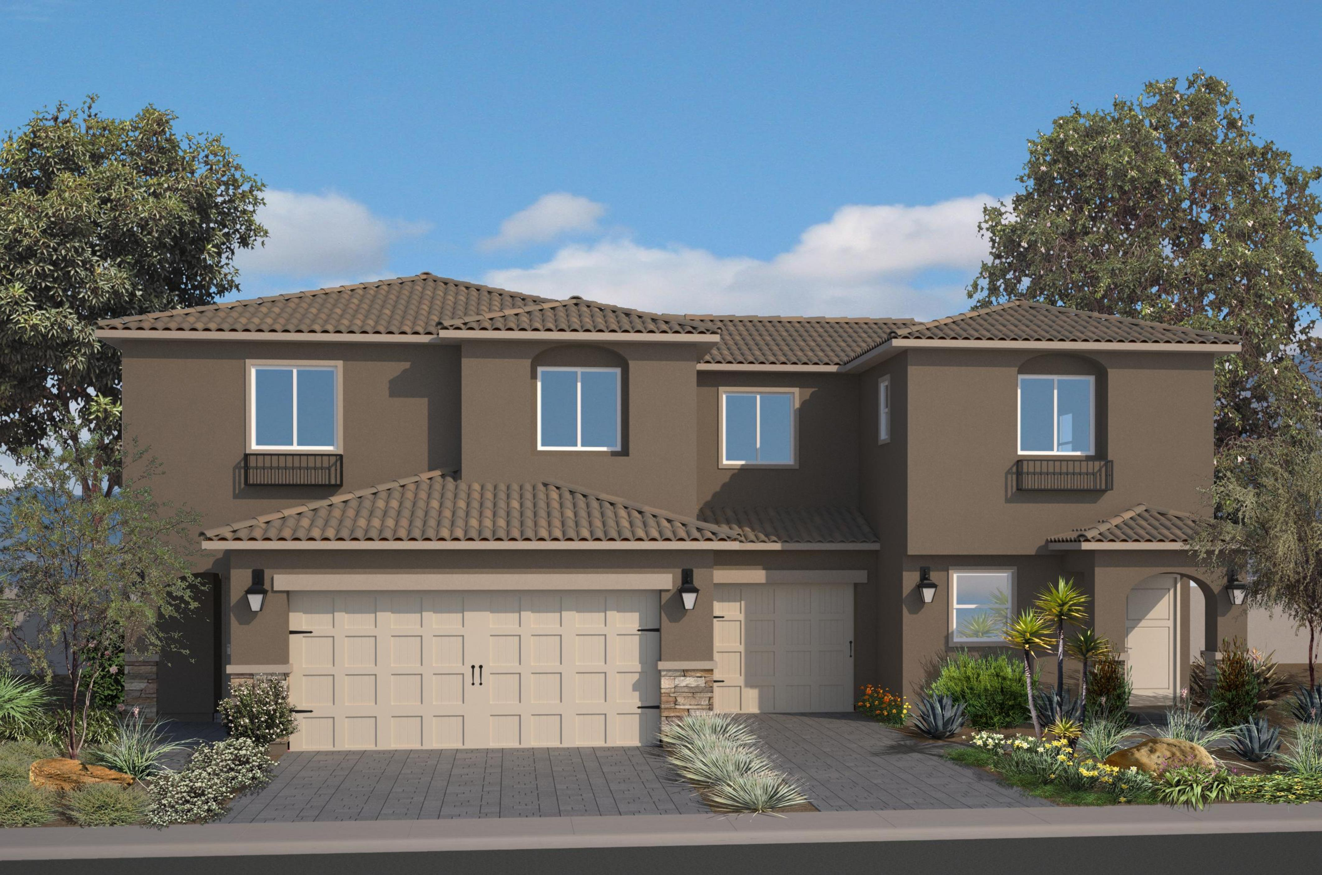 Exterior featured in the Unit Two By Harmony Homes - Las Vegas in Las Vegas, NV