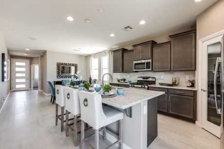 Kitchen-in-Residence 2370-at-Northridge-in-North Las Vegas