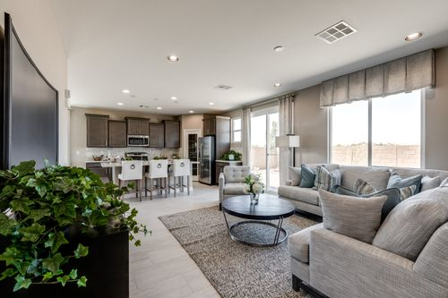 Greatroom-and-Dining-in-Residence 2370-at-Northridge-in-North Las Vegas