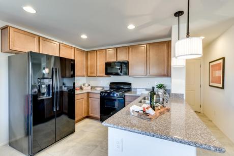 Kitchen-in-Riverstone 1613-at-Riverstone-in-North Las Vegas