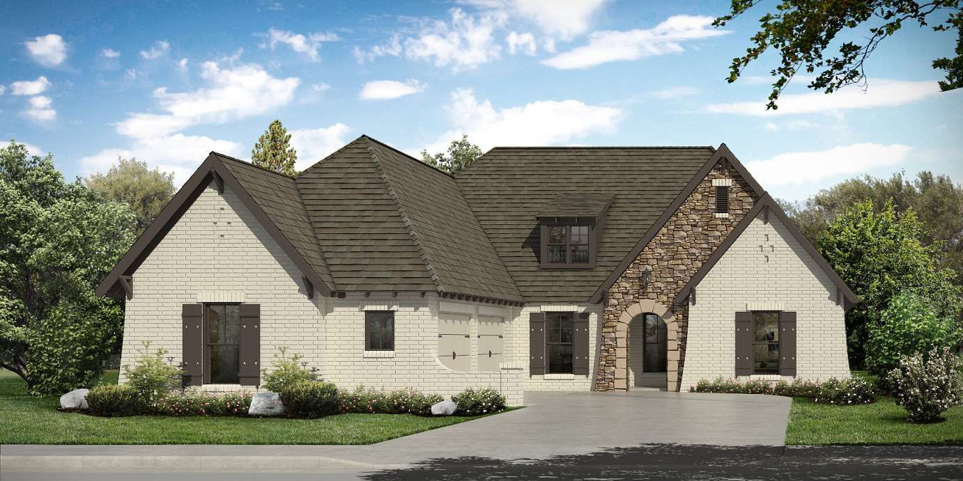 Exterior featured in the Millbrook By Harris Doyle Homes Inc in Auburn-Opelika, AL