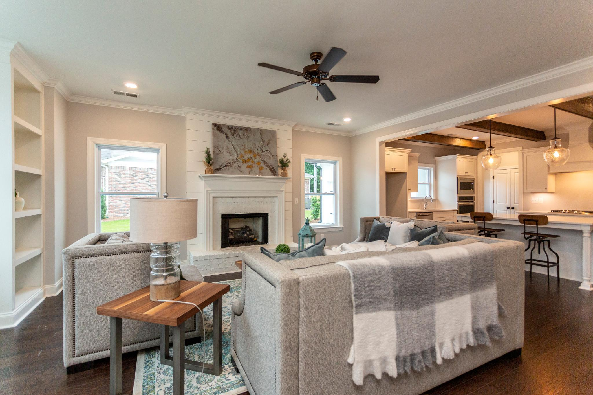 Living Area featured in the Franklin By Harris Doyle Homes Inc in Auburn-Opelika, AL