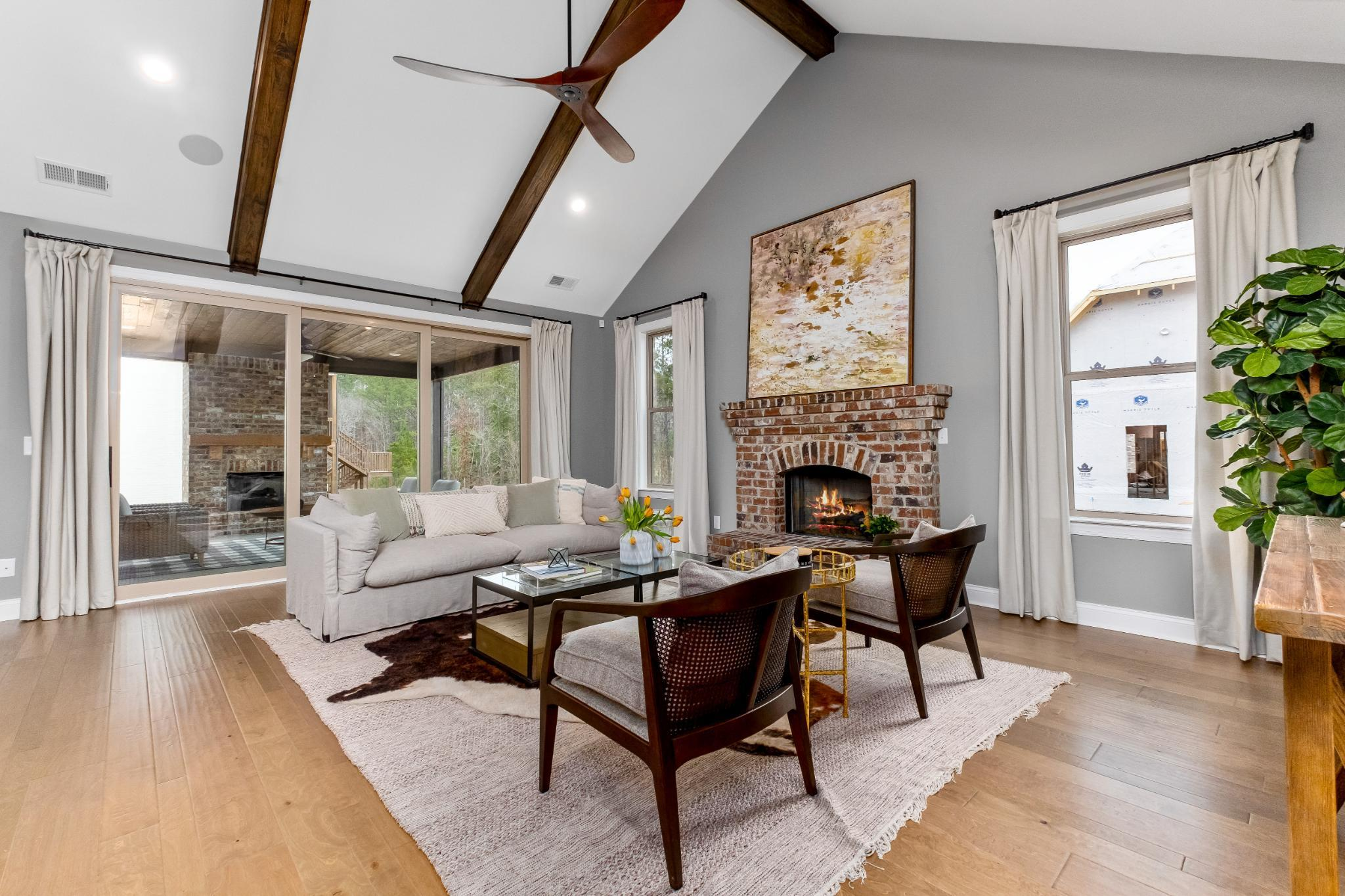 Living Area featured in the Rosemont By Harris Doyle Homes Inc in Birmingham, AL