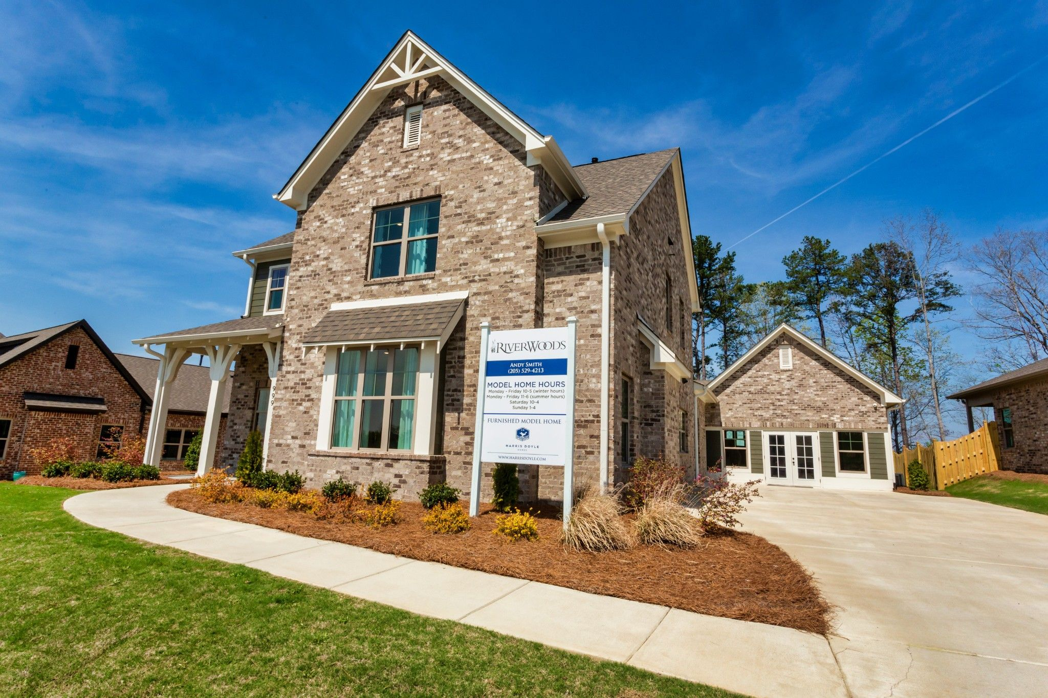 Exterior featured in the Jefferson By Harris Doyle Homes Inc in Birmingham, AL