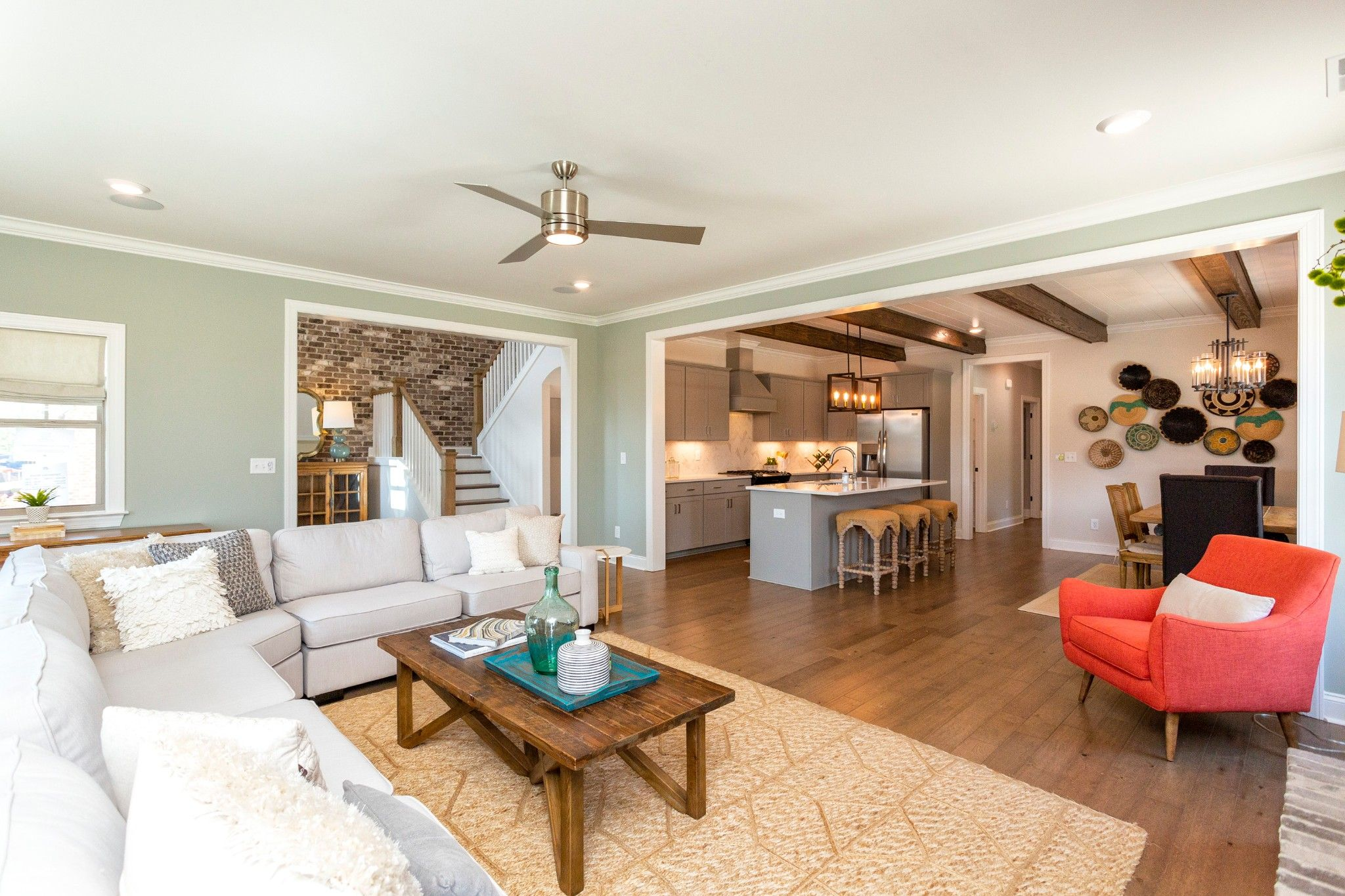 Living Area featured in the Jefferson By Harris Doyle Homes Inc in Birmingham, AL